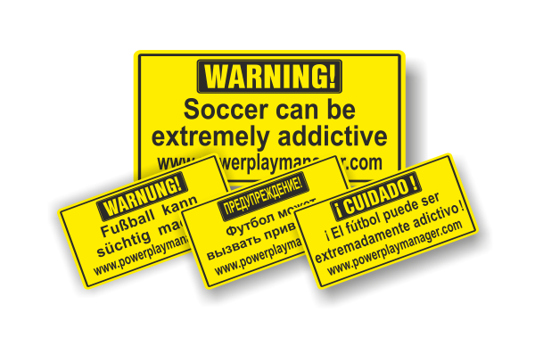 PowerPlay Manager magnetka SOCCER ADDICTION